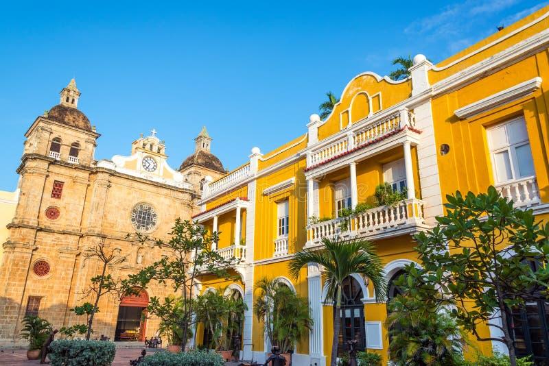 San Pedro Claver plac zdjęcia royalty free