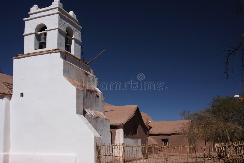 San Pedro de Atacama Igreja imagem de stock royalty free