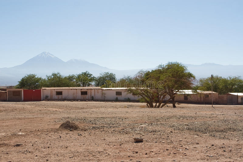 San Pedro de Atacama, lugar turístico imagens de stock