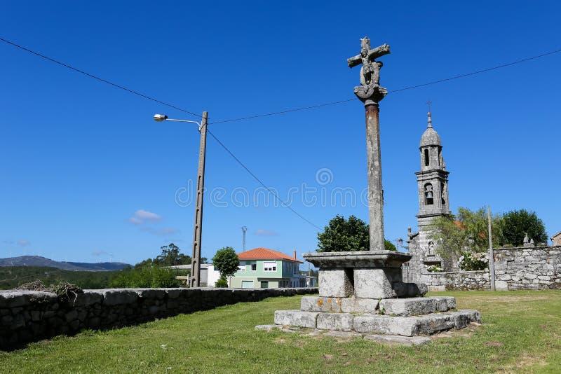 San Pedro de Berdoias stock fotografie