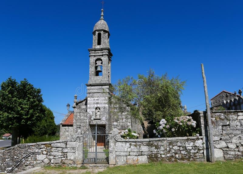 San Pedro de Berdoias stock foto