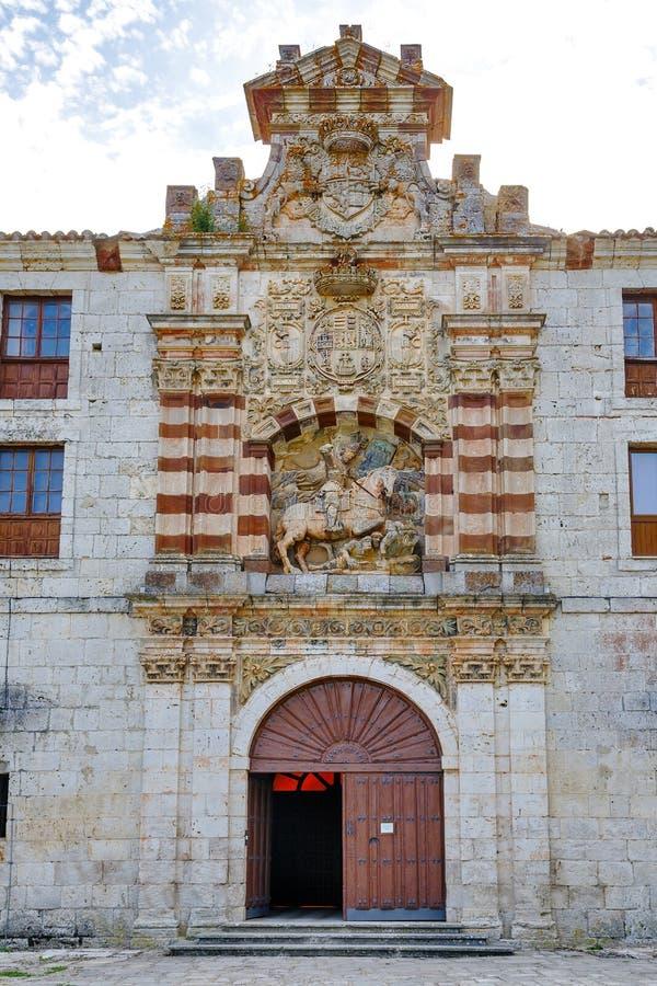 San Pedro de cardena a Burgos fotografia stock