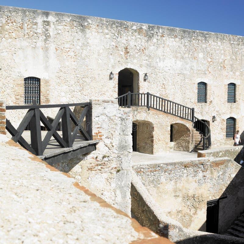 San Pedro de la Roca Castle stockfotos