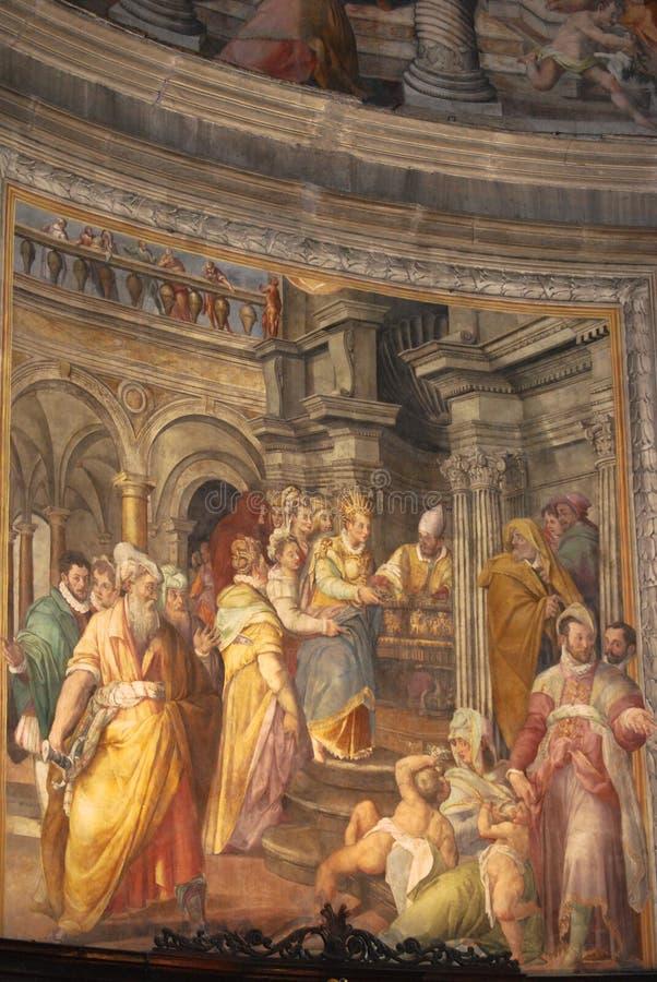 San Pedro en Vincoli, Roma, Italia imagen de archivo