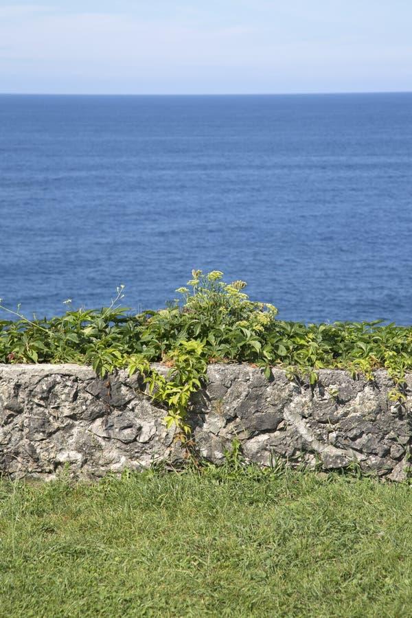 San Pedro Headland, Llanes, Austurias imagen de archivo