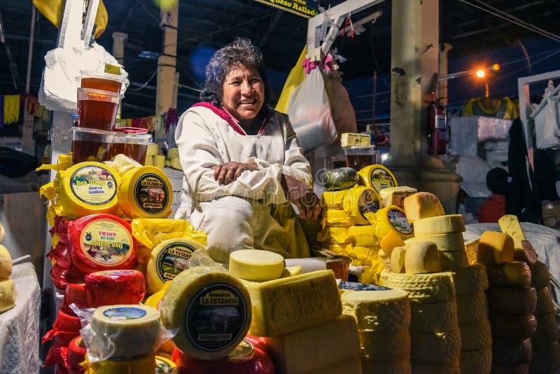 San Pedro Market/Cusco/Peru/07-14-2017 stock foto
