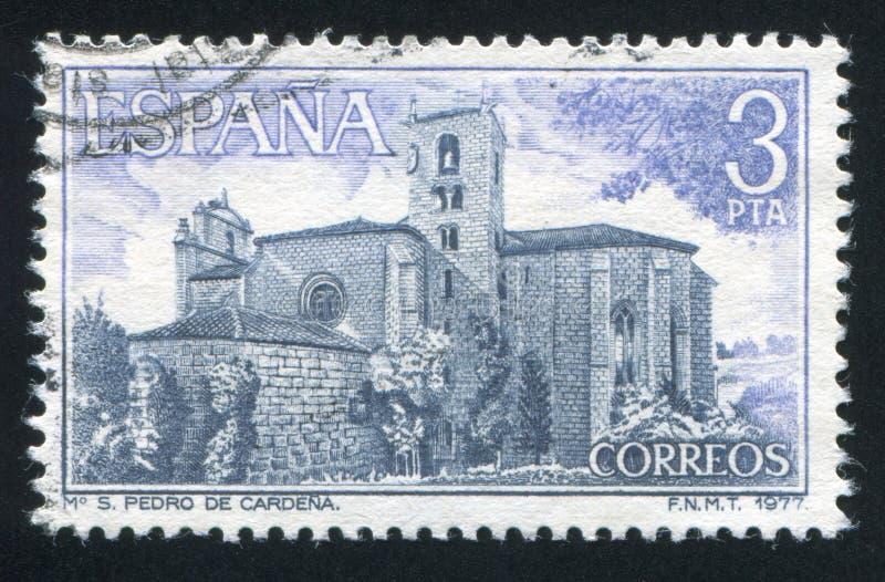 San Pedro Monastery royaltyfri fotografi