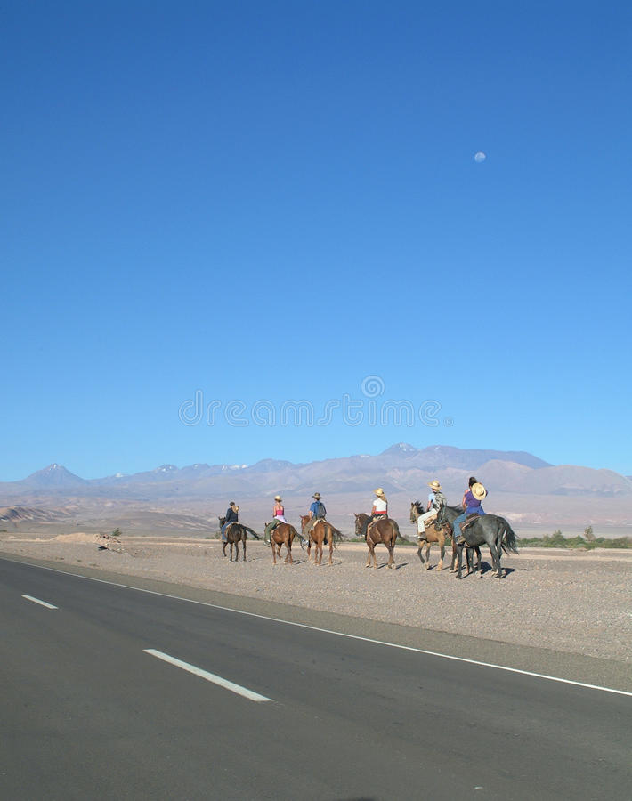 San Pedro, o Chile imagens de stock royalty free