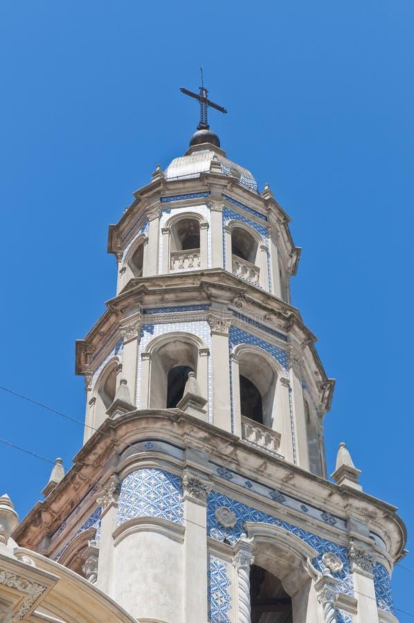 San Pedro Telmo church at Buenos Aires royalty free stock images