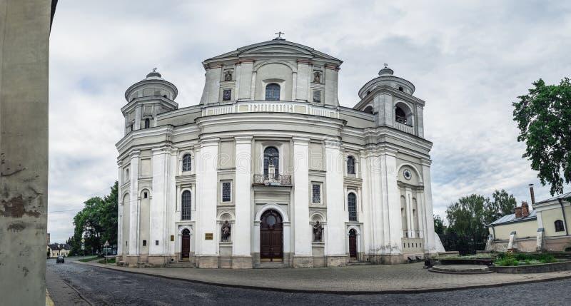 San Pedro y Paul Cathedral en Lutsk, Ucrania imagenes de archivo