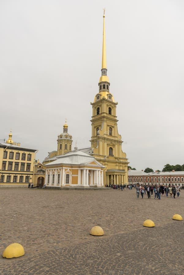 San Pedro y Paul Cathedral St Petersburg Russia fotos de archivo libres de regalías