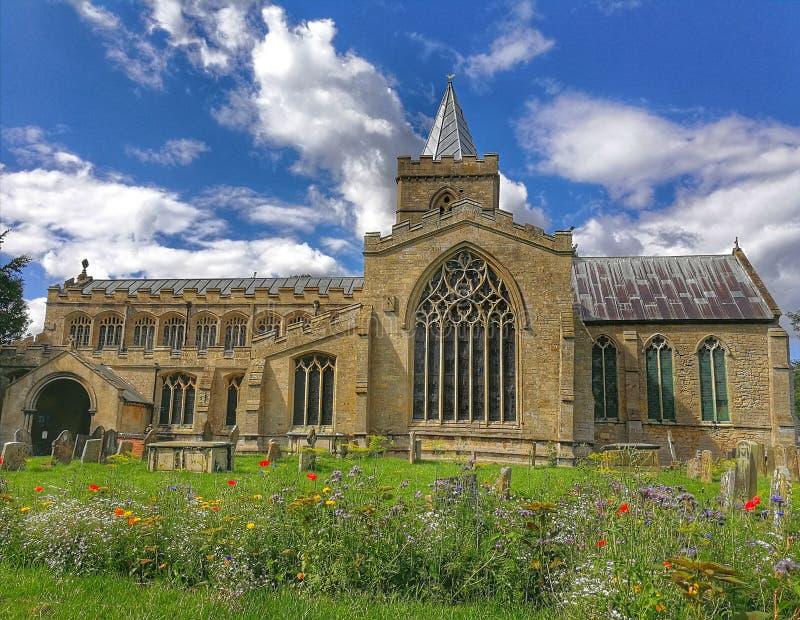 San Pedro y Paul Church, Algakirk, Lincolnshire fotos de archivo