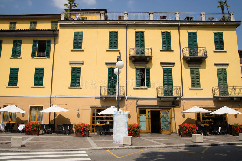 San Pellegrino Terme photographie stock libre de droits