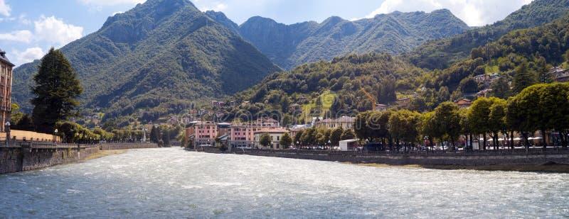 San Pellegrino Terme Image de couleur images stock