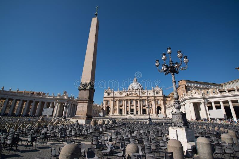 San Peter basilika, Rome royaltyfria foton