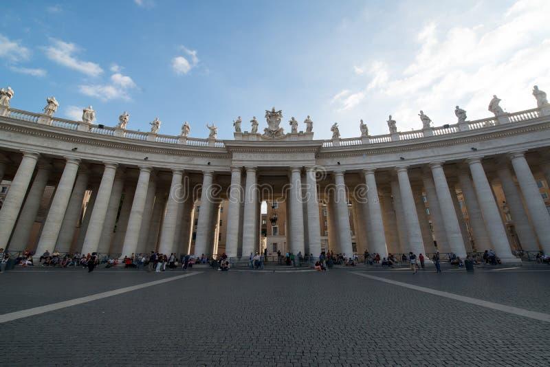 San Peter basilika, Rome royaltyfri foto
