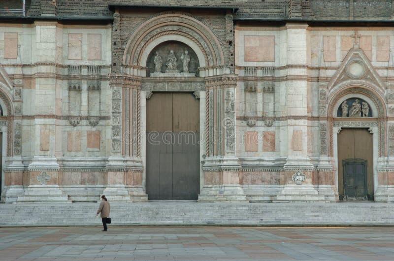 Download San Petronio - Facade stock photo. Image of basilica, alone - 504374