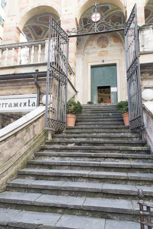 SAN Pietro στην εκκλησία Banchi, Γένοβα στοκ εικόνες
