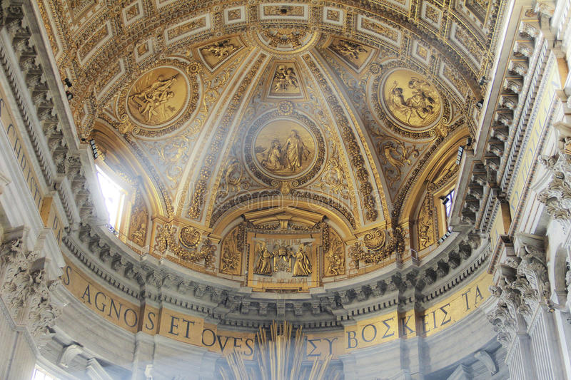 San Pietro Cathedral, Vatican, Italie images stock