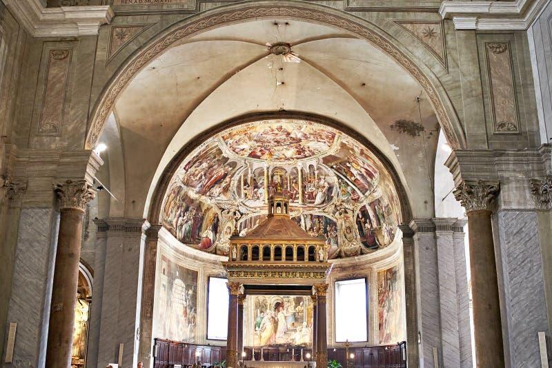 San Pietro i den Vincoli kyrkan arkivfoton