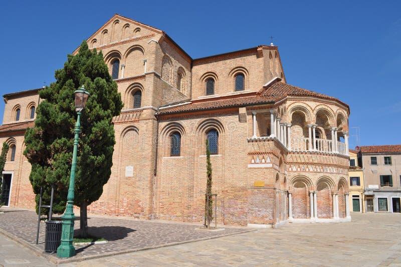 San Pietro Martire, Venetië stock afbeelding