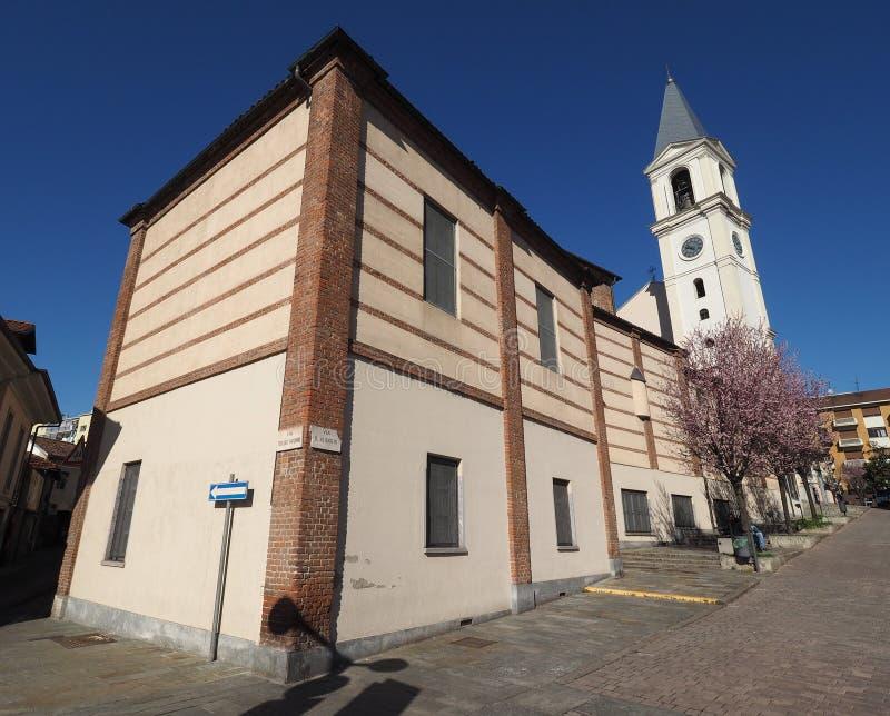 San Pietro na igreja de Vincoli (St Peter nas correntes) no Tor de Settimo imagem de stock royalty free