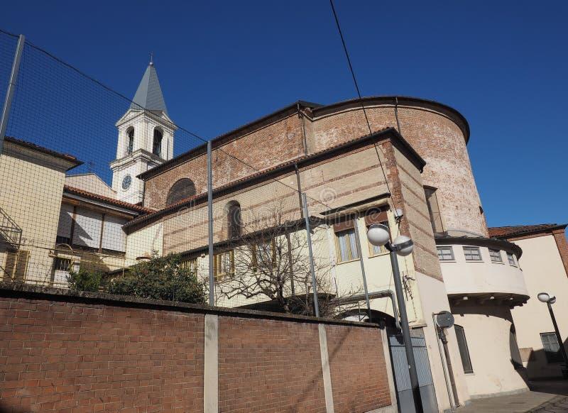 San Pietro na igreja de Vincoli (St Peter nas correntes) no Tor de Settimo foto de stock