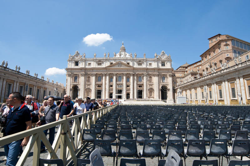 San Pietro in Rom stockbilder
