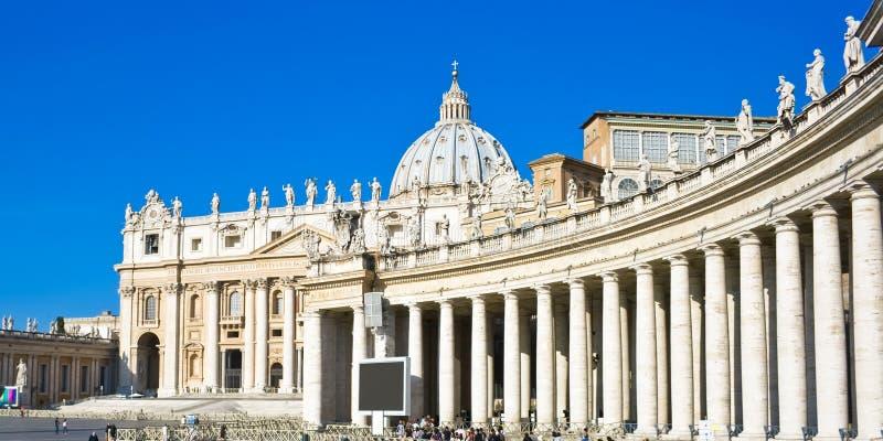 San Pietro in Vaticano fotografie stock