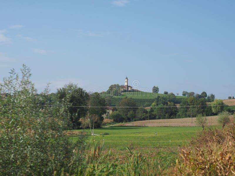 San Pietro in Vincoli church in Chieri. Chiesa di San Pietro in Vincoli church in Chieri, Italy stock images