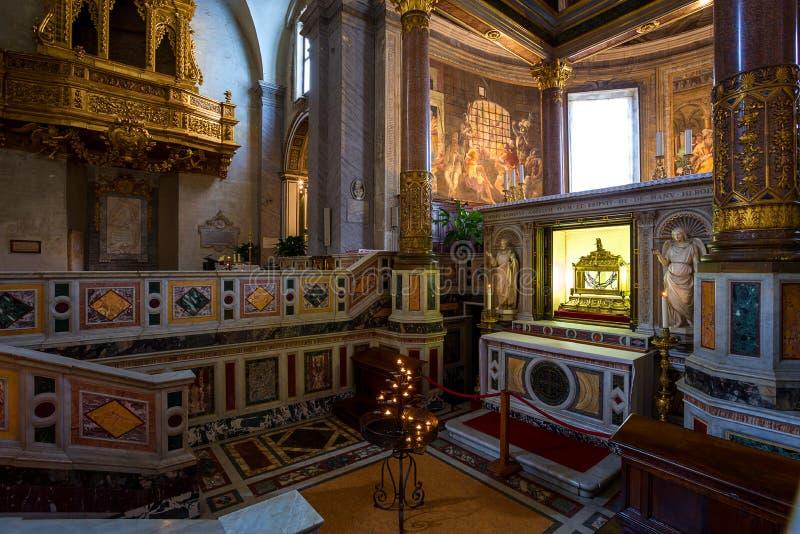 San Pietro in Vincoli church. Rome. Italy. royalty free stock photo