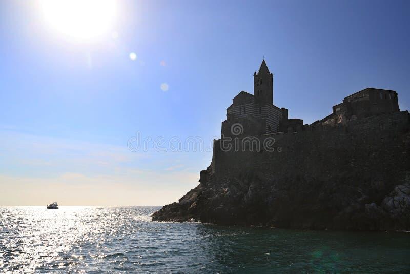 San Pietro w Portovenere zdjęcia stock