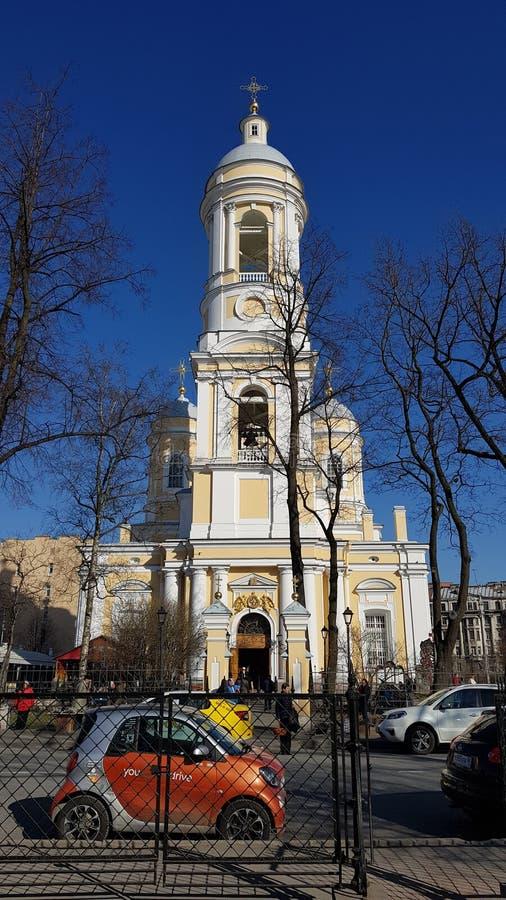 San Pietroburgo è bello fotografia stock