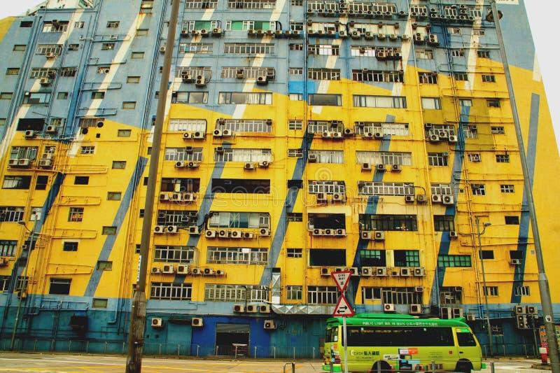 San PO Kong, Kowloon Hong Kong images stock