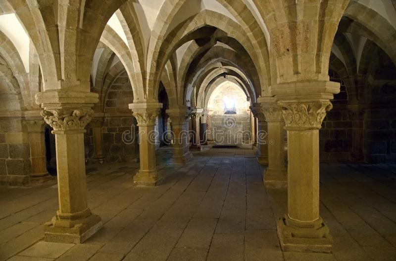 San Prokopius della basilica in Trebic immagine stock libera da diritti