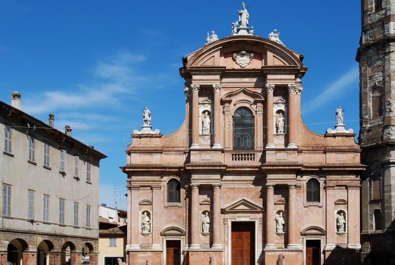 San Prospero's church, Reggio Emilia stock photos