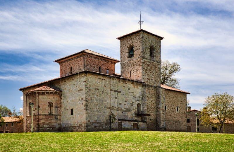 San Prudencio Hermitage stock photo