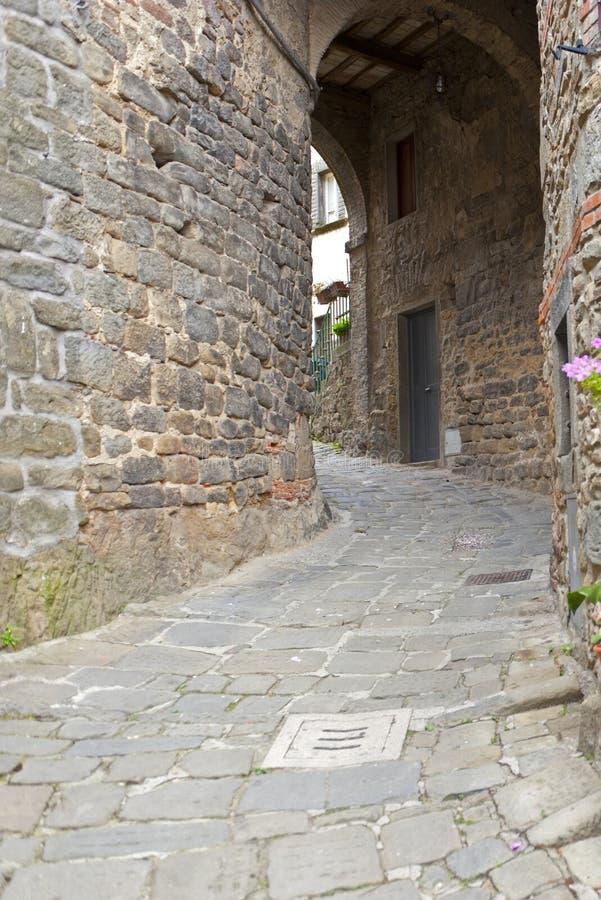 San Quirico (Svizzera Pesciatina, Toscana) fotografia stock libera da diritti