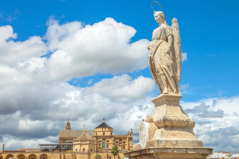 San Rafael Archangel Cordoba imagenes de archivo