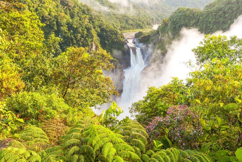 San Rafael Falls royalty free stock image