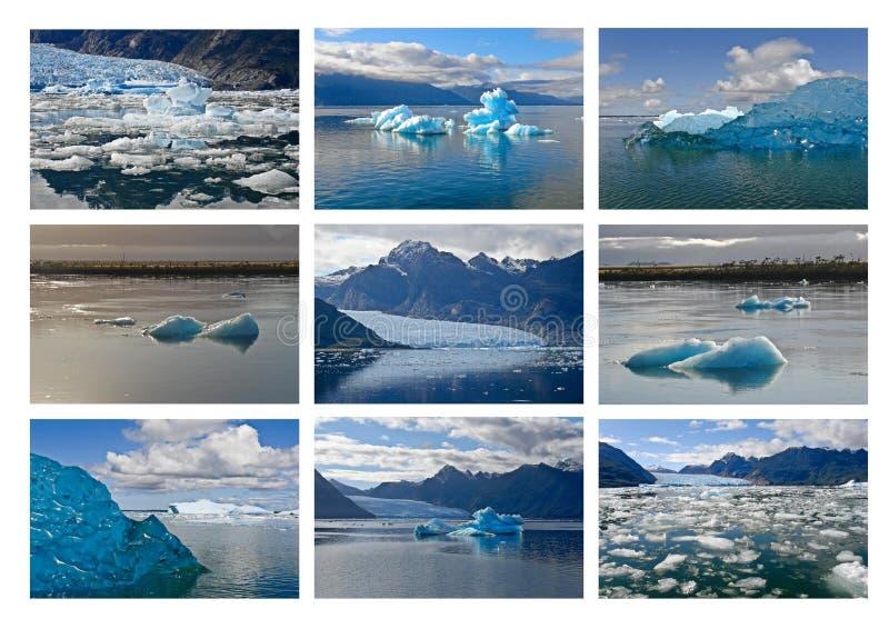 San Rafael Glacier fotografie stock libere da diritti