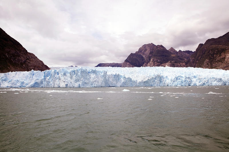 San Rafael Glacier, Patagonia, Cile fotografia stock libera da diritti