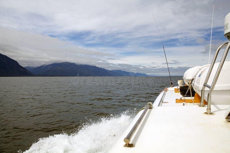 San Rafael Lagoon, Patagonia, Cile immagini stock