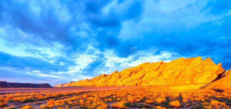 San Rafael Swell fotografia stock libera da diritti