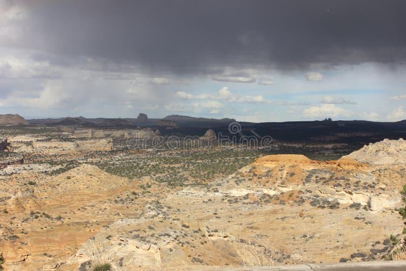 San Raphael Valley in Süd-Utah stockbild