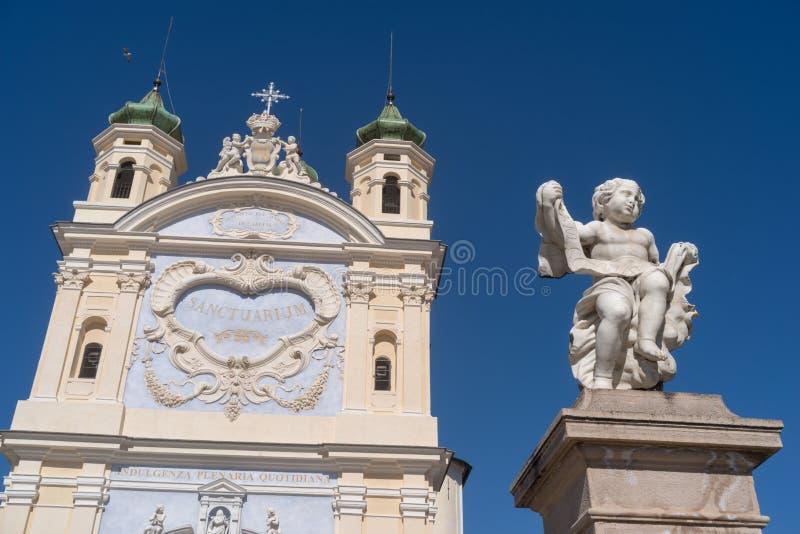 San Remo, Itália, santuário nossa senhora do mar imagens de stock