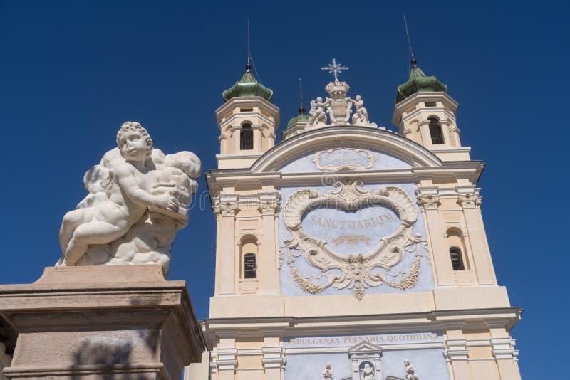 San Remo, Itália, santuário nossa senhora do mar fotografia de stock royalty free