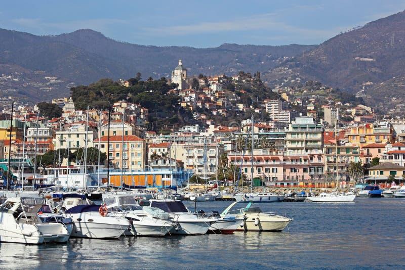 San Remo, Italië stock afbeelding