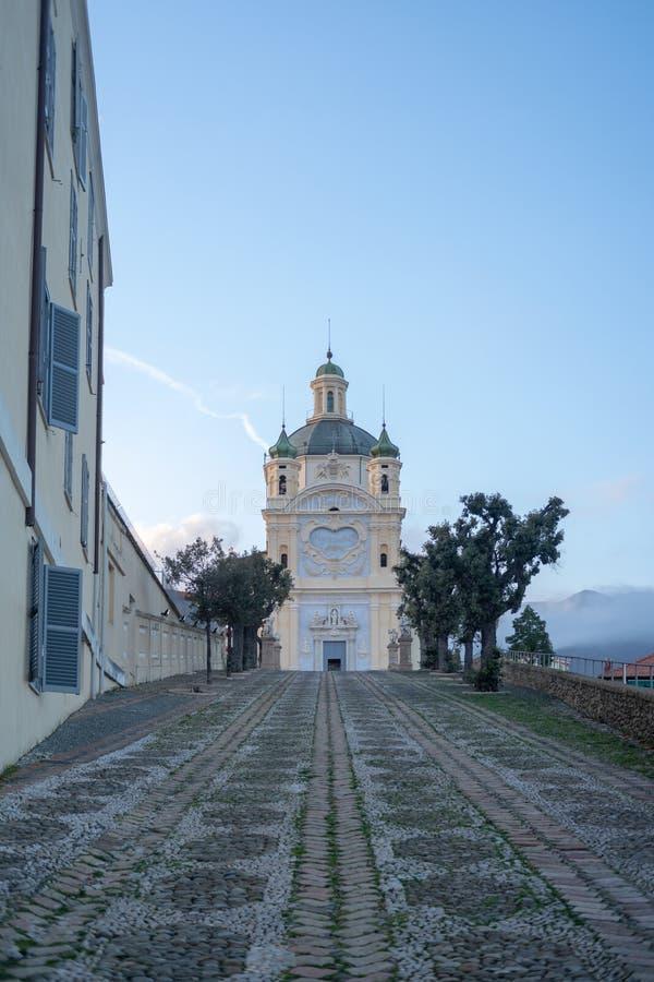 San Remo, Italien, Schongebiet unsere Dame des Meeres lizenzfreie stockfotografie