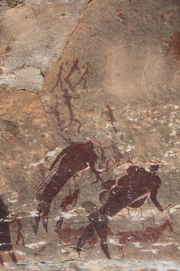 Download San Rock Art Bushman Painting Stock Image - Image: 61289775